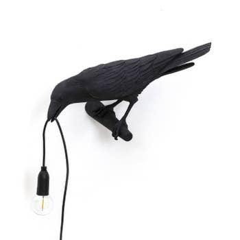 Bird Lamp Left OUTDOOR