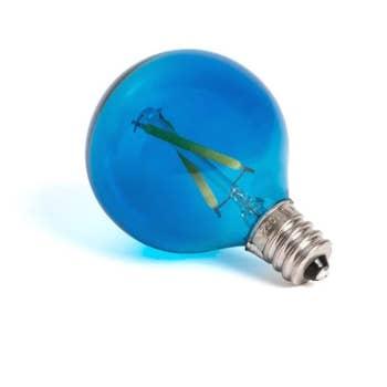 Mouse Lamp Blue Light Bulb