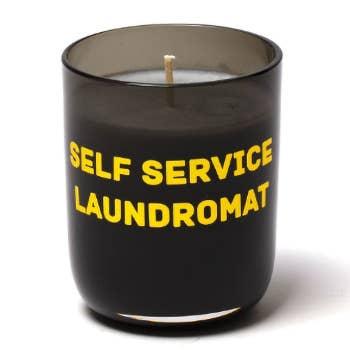 Memories Laundromat Candle