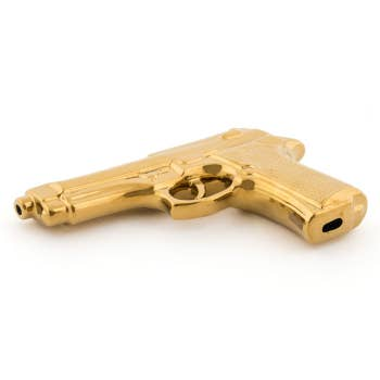 Memorabilia Gold Gun Deco