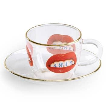 Shit Glass Espresso Cup