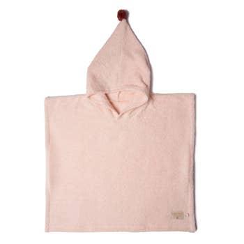 So Cute Poncho Pink 3-5Y