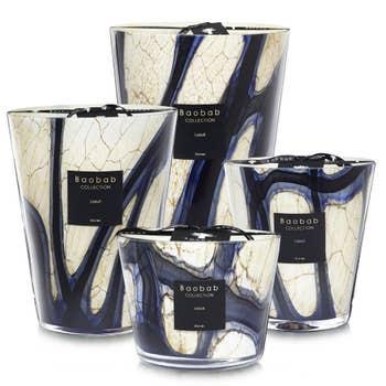 Stones Lazuli Baobab Candle