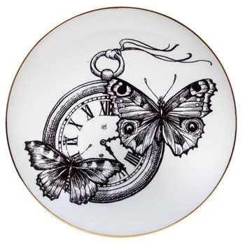 Time Flies Plate