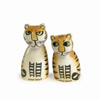 Tiger Salt & Pepper Shakers