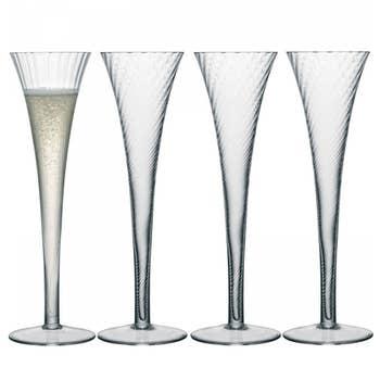Aurelia Champagne Flute Set 4
