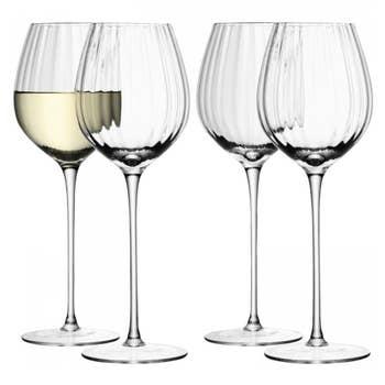 Aurelia White Wine Glass Set 4