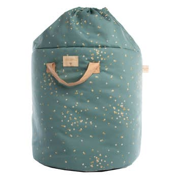 Bamboo Toy Bag Green