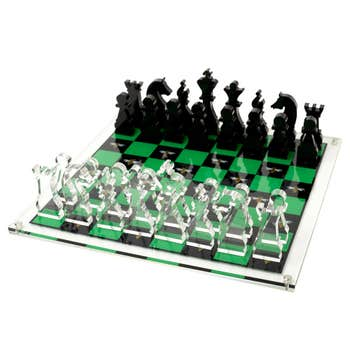 Chess set - Green