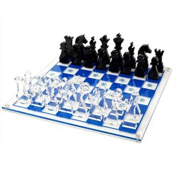 Chess set - Blue
