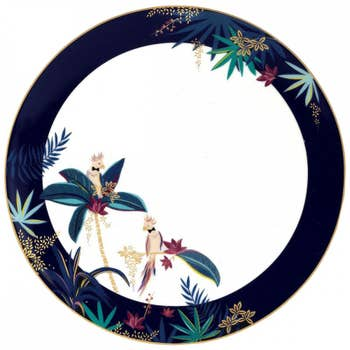 Cockatoo Round Platter