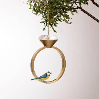 Diamond Bird Feeder