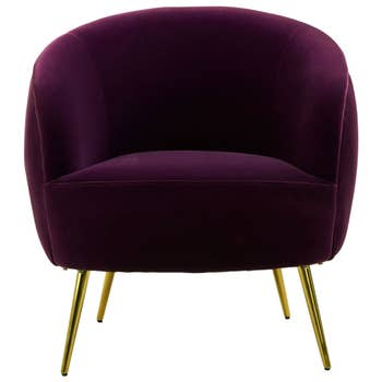 Emba Velvet Armchair