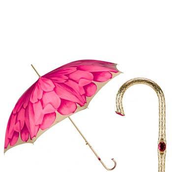 Fuchsia Dahlia Luxury Umbrella