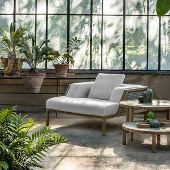 Grand Life Lounge Armchair - Armchair with Cushions + Rain Cover