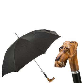 Hand Carved Great Dane Umbrella