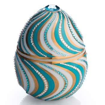 Faberge Helicoidal Egg Candle