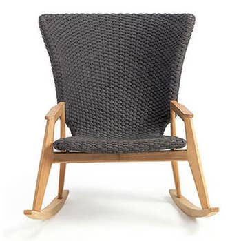 Knit Rocking Armchair