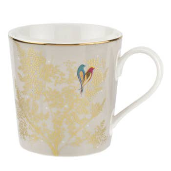 Pale Grey Lovebird Mug