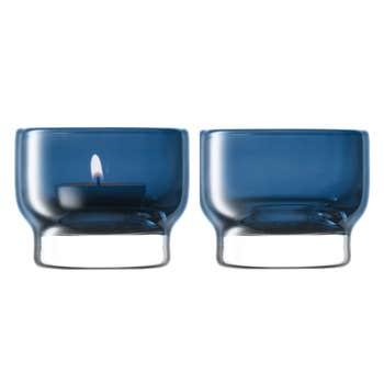 Utility Blue Tealight Holder