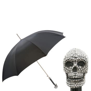 Swarovski Skull Handle Luxury Umbrella