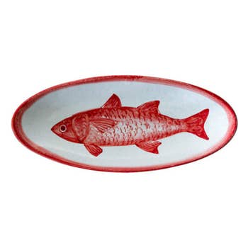 Mare Fish Oval Tray