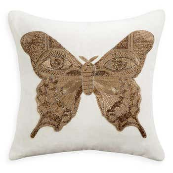 UK Muse Butterfly Pillow