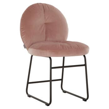 Bouton Dining Chair Pink