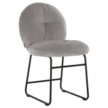 Bouton Dining Chair Light Grey
