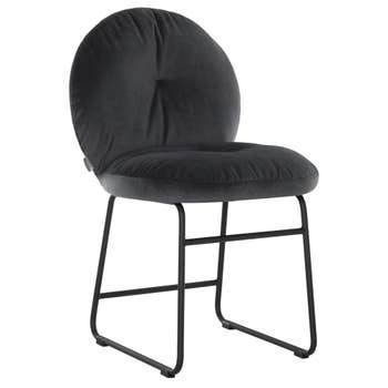 Bouton Dining Chair Dark Grey