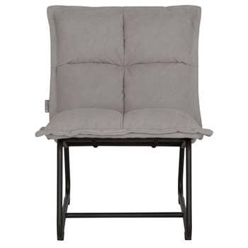 Kids Lounge Chair Grey