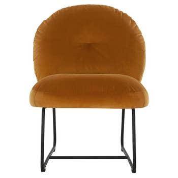Bouton Lounge Chair Ochre