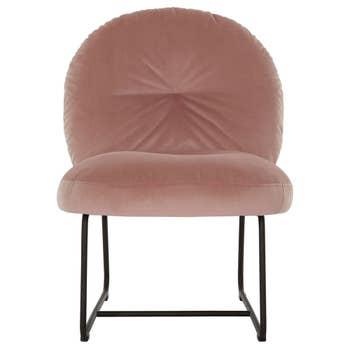 Bouton Lounge Chair Pink