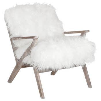 Fletcher Lounge Chair White