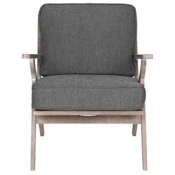 Fletcher Lounge Chair Charcoal