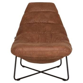 Line Lounge Chair Cognac