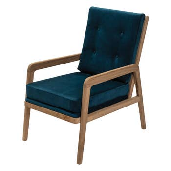 Palm Springs Buttoned Armchair