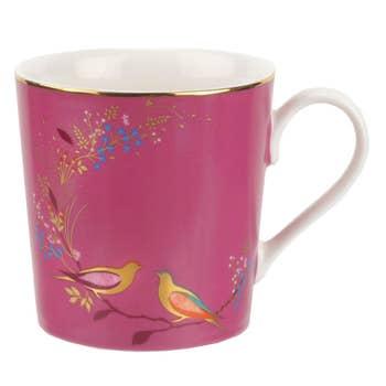 Pink Bird Mug
