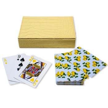 Playing Cards -Capri Lemons