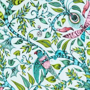 Rousseau Tropical Wallpaper