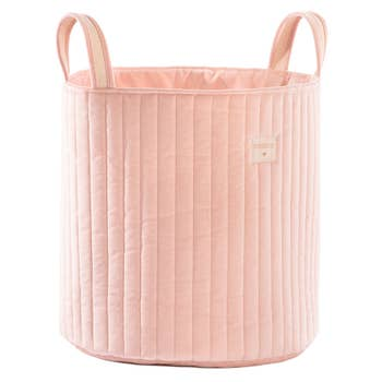 Savanna Velvet Toy Bag Pink