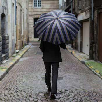 One-Piece Chestnut Luxury Umbrella