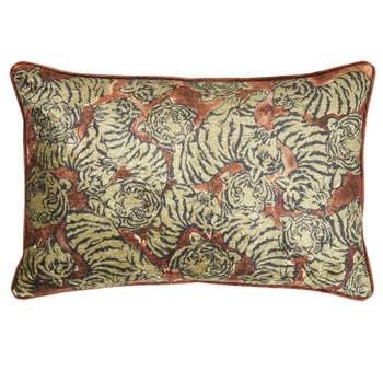 Elegant Tigers Cushion