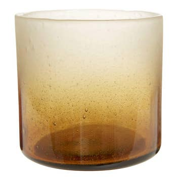 Bubble Brown Candle Holder