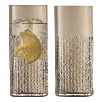 Wicker Taupe Highball Set of 2