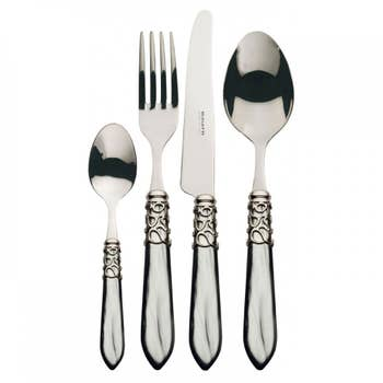 Melodia Grey Cutlery Set of 24