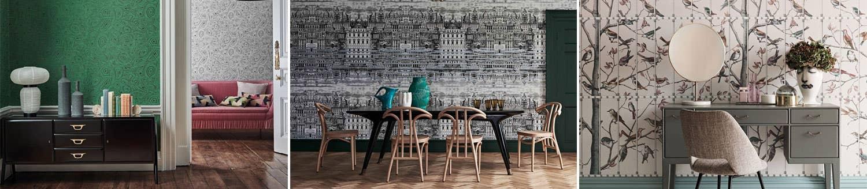 Fornasetti Senza Tempo Cole & Son wallpaper