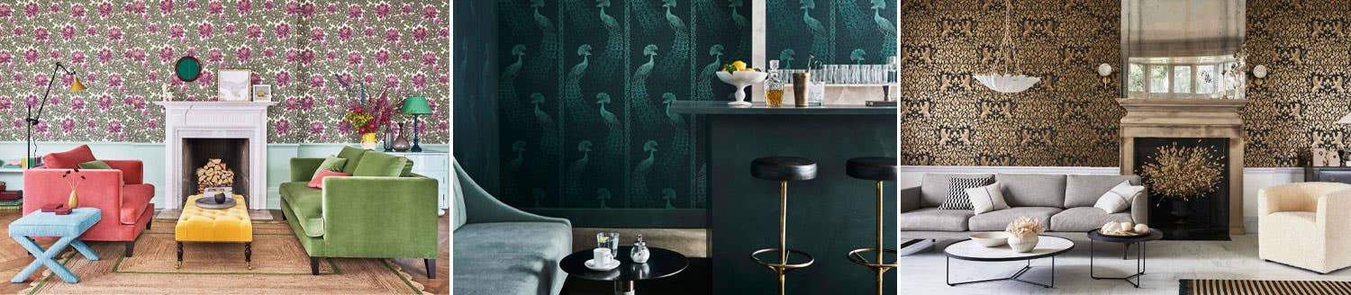 The Pearwood Collection Cole & Son Wallpaper